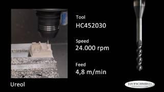 Fresas para mecanizado de resinas de poliuretano Ureol para prototipos y modelos