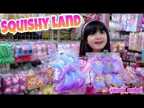 Hunting Squishy Murah Dapat Squishy Gratis Lagi??? Squishy Land Di PGS - Nicole Annabelle