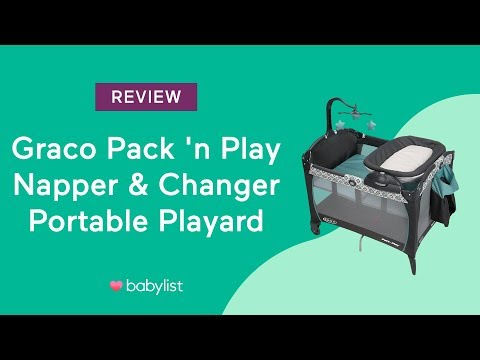 Graco Pack 'n Play Portable Napper & Changer Playard Review Babylist