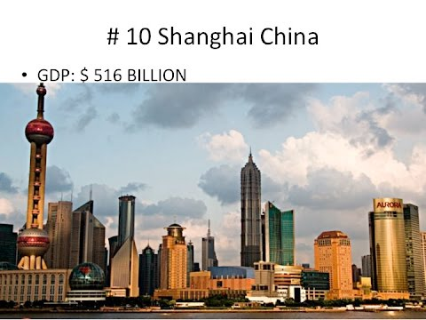 The 30 Richest Cities of the World