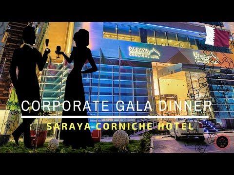 Corporate Gala Dinner at SARAYA CORNICHE HOTEL | Doha, Qatar | i am SIGH