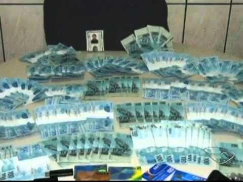 Casal que reside em Mimoso do Sul é preso com R$ 18 mil em notas falsas.