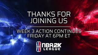 NBA 2K League Week 3 | Day 2