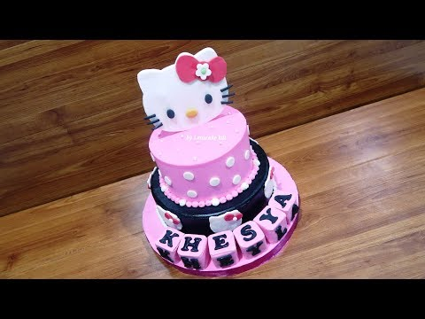 Birthday Cake HELLO KITTY Latest by LeNsCake Kdi