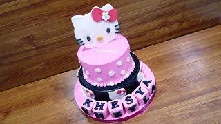 Kue Ulang Tahun HELLO KITTY Terbaru by LeNsCake Kdi