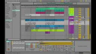 (Playthrough) Producing like Flume Disclosure You Me Remix Ableton Live 9 Standard - MIDI Download