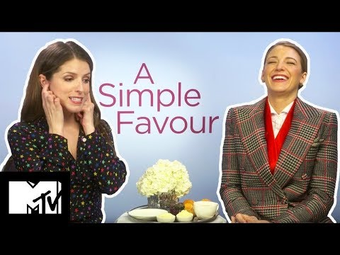 """I Should Go Into Porn"" Anna Kendrick & Blake Lively On SHOCK Twists  A Simple Favour  MTV Movies"