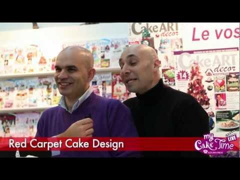 Intervista Red Carpet Cake Design