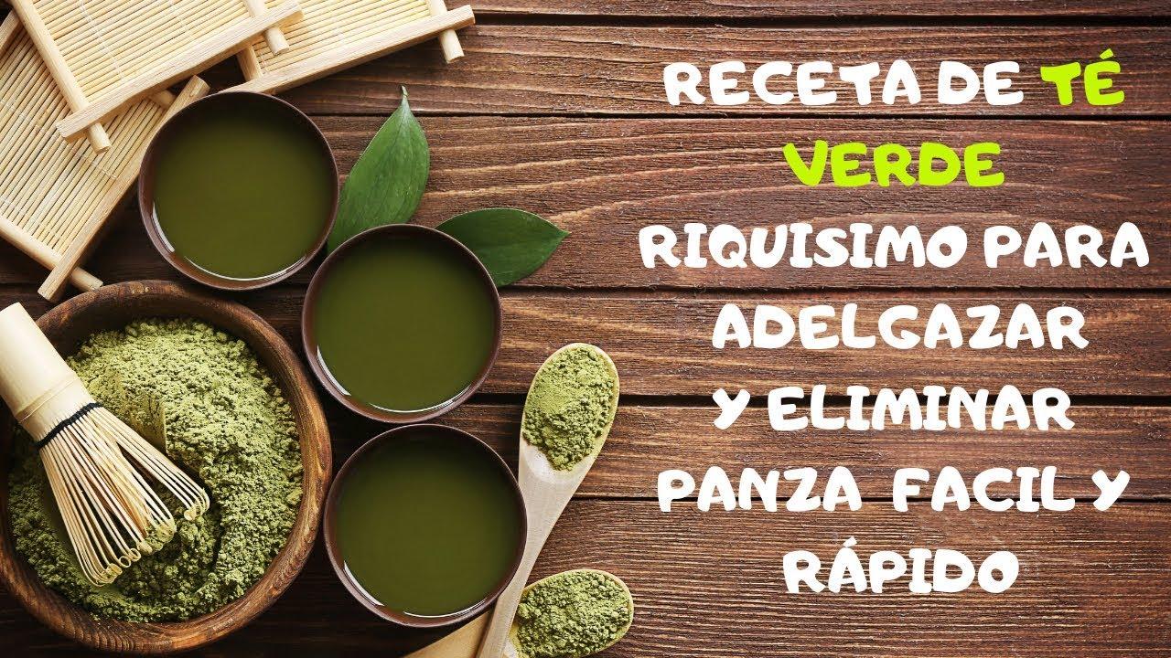 Como preparar te verde para adelgazar