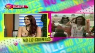Dulce María admira la decisión de su amiga Anahí sobre tener una boda pequeña