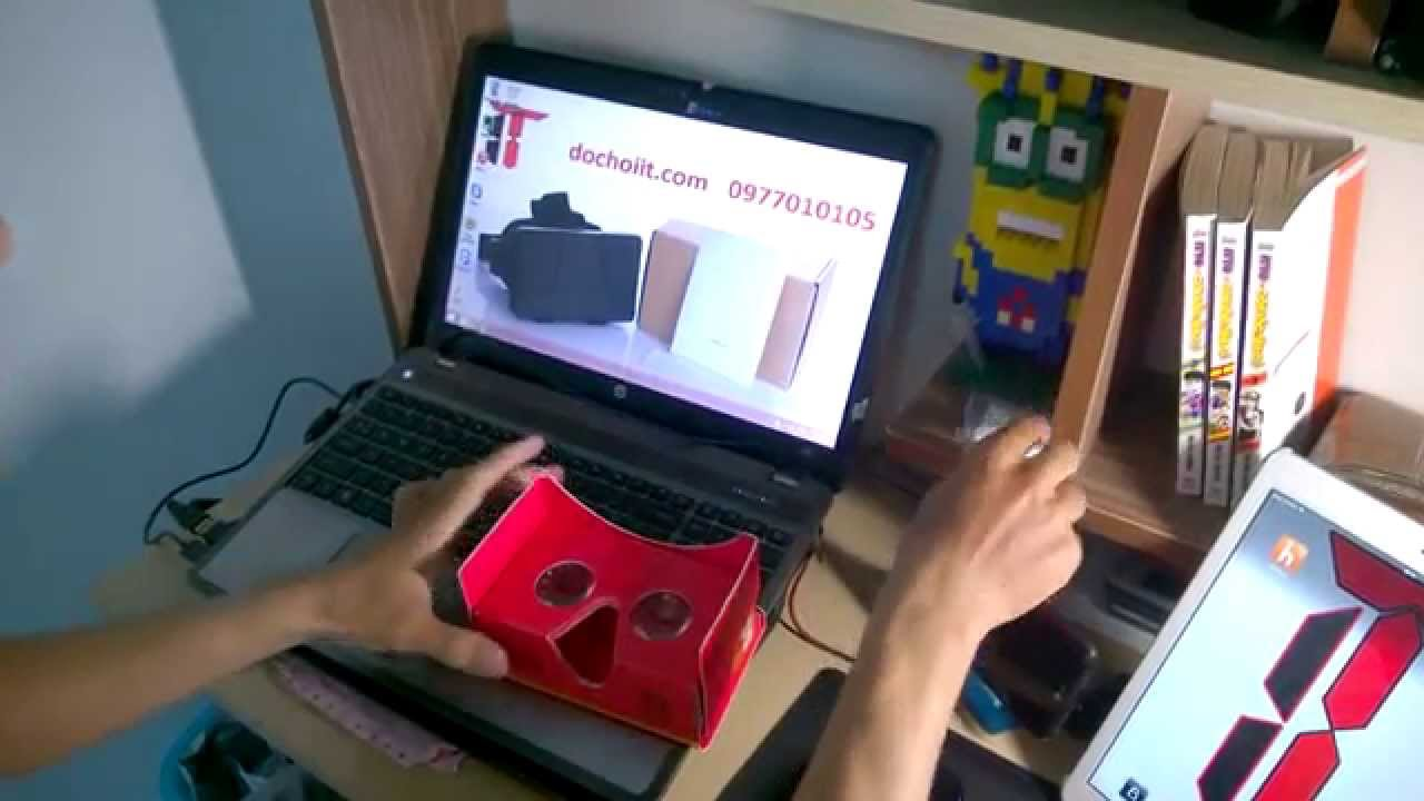 Trải nghiệm so sánh , đánh giá sơ bộ google cardboard ver 2 vs ver 1