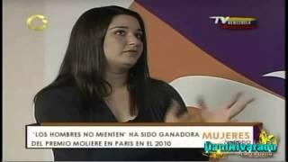 Daniela Alvarado en El Programa Mujeres... En  Todo