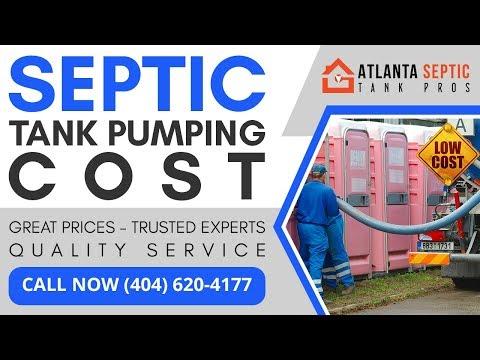 Septic System Pump Cost in Dalton