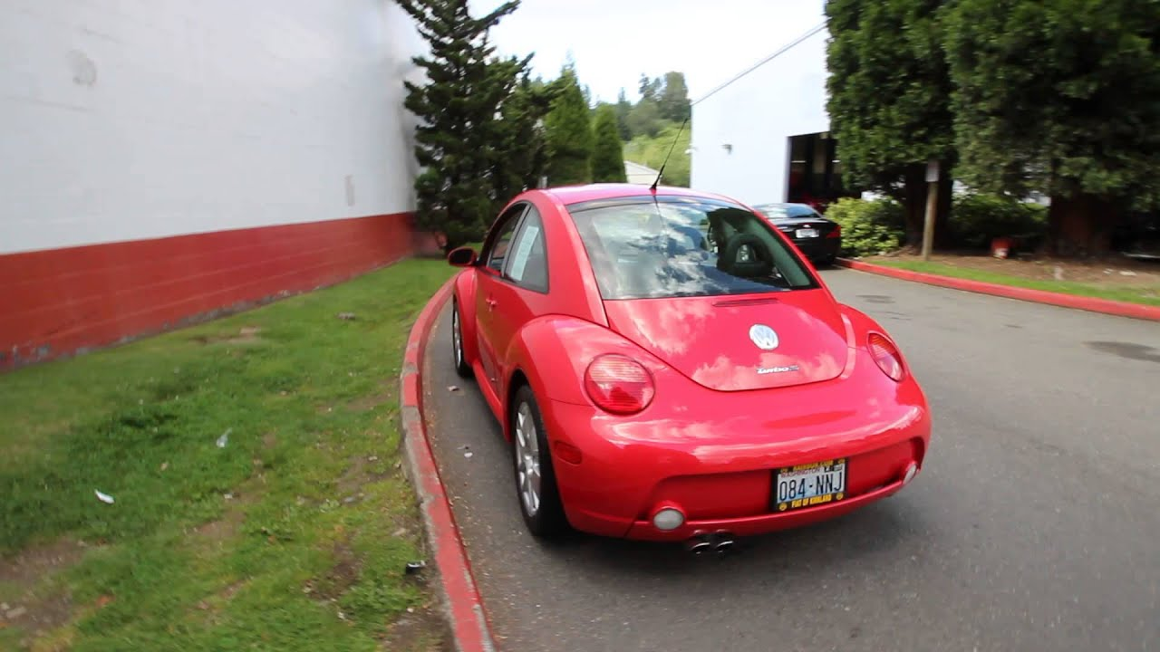 2002 Volkswagen Beetle S Red 2M Redmond