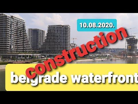 BELGRADE WATERFRONT ,ALL BUILDING CONSTRUCTION WITH BELGRADE TOWER LIVESTRAM ,FIRST VIDEO