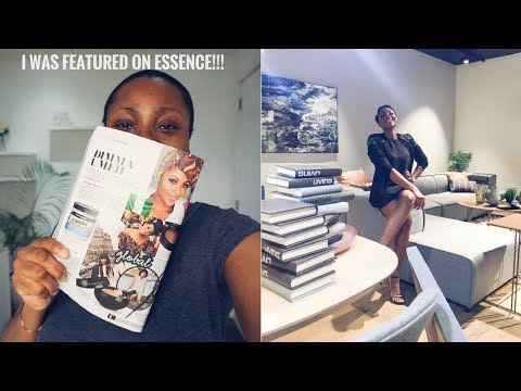 FIRST BIG MAGAZINE FEATURE | DIMMA LIVING #07 (VLOG)