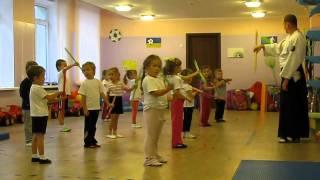 урок айкидо в садике(продолжение)