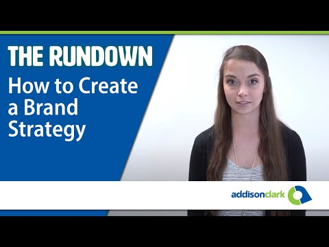 The Rundown: How To Create a Brand Strategy