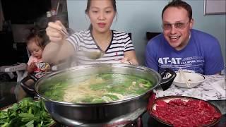 Vlog 622 ll Lẩu Đuôi Bò Của Mỹ Và Thịt Bò Tái Ngàn Thới Mỡ Waygu Của Nhật Ngon Quên Lối