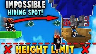 Glitching into *IMPOSSIBLE* Hiding Spot in Hypixel Bedwars!