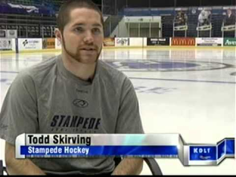 KDLT com South Dakota News   Skirving has high goals!