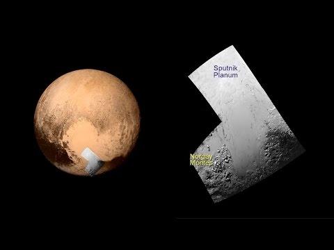 Geology of Pluto - Sputnik Planum (Sputnik Plain)