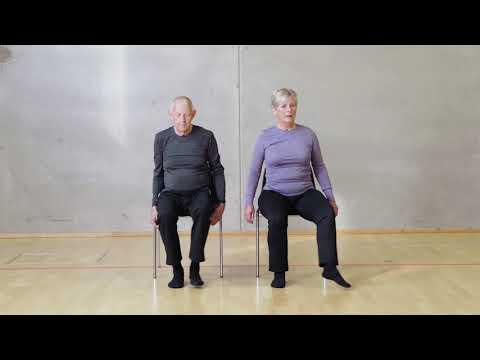 Stoletræning - Stoledans - bevægelighed i hofteled