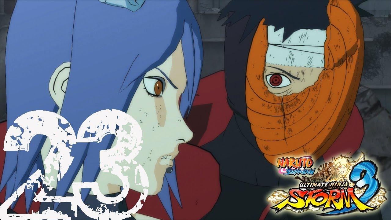 Download Naruto: Ultimate Ninja Storm 3: Tobi vs. Konan - Playthrough Part 23