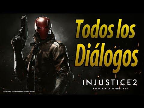 Injustice 2 | Español Latino | Todos los Diálogos | Red Hood | PS4 |