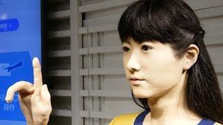 Chihira Junco「地平ジュンこ」3/5 Presentation, close-up @ Odaiba (2017.11) [4K]
