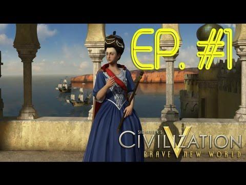 Civilization V: BNW - PORTUGAL: RECADO IMPORTANTÍSSIMO + INÍCIO DA NOVA SÉRIE!! #1 (PT-BR)