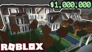 Ein 1.000.000 US-Dollar MODERN MANSION!!! | Abonnententouren (Roblox Bloxburg)