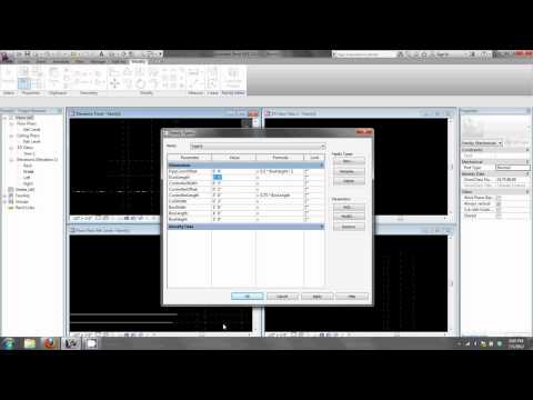 Creating Mechanical Equipment Families in Revit 2013 Part I  Fundamentals and Geometry