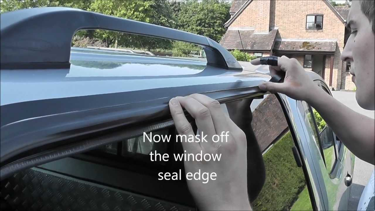 How To Seal A Side Window Youtube