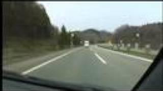 東北自動車道 下り 高舘PA→青森JCT 2008/04/23撮影