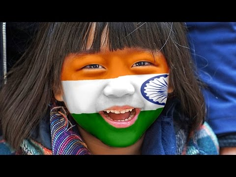 #76 Displace in adobe Photoshop (Flag on face)