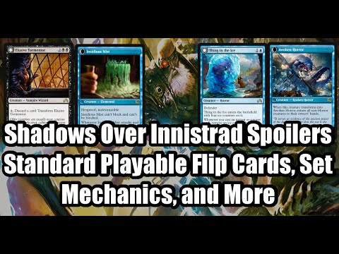 Shadows Over Innistrad Spoilers: SoI Mechanics, Thing In The Ice (KRAKEN!) and More
