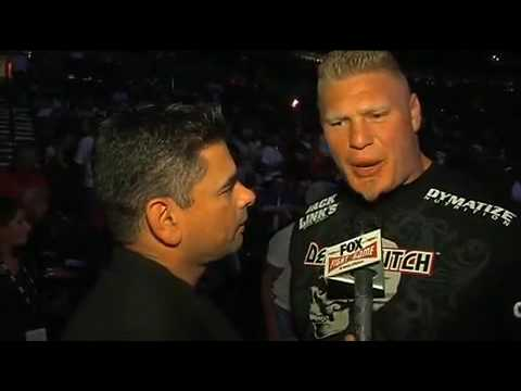 UFC 102: Brock Lesnar on Randy Couture