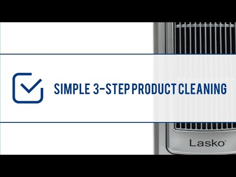 How to Clean Your Lasko Tower Fan or Heater