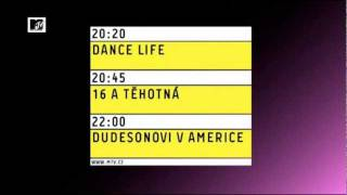 MTV Czech Republic - Evolution of the 'Programming Menu' (2009-2011)