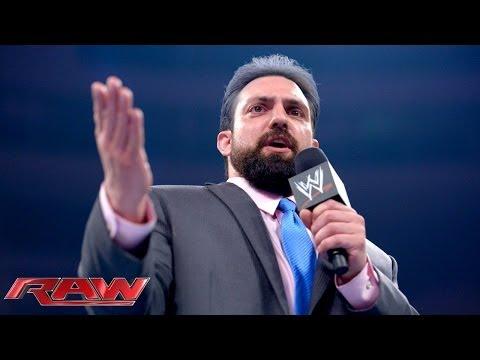 The Great Khali vs. Damien Sandow: Raw, June 30, 2014