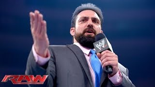 The Great Khali vs. Damien Sandow: Raw, June 30, 2014