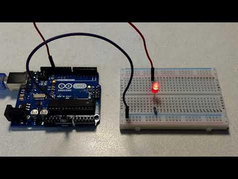 【Arduino電路實驗】閃爍一顆LED