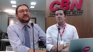 Entrevista CBN Campo Grande: Sérgio Longen , presidente da Fiems