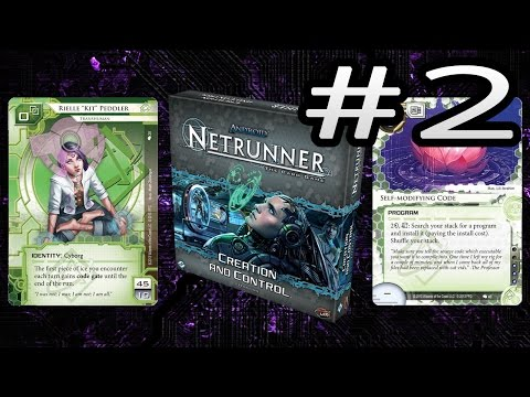 A Look Back at Netrunner Creation and Control - Runner (Shaper)