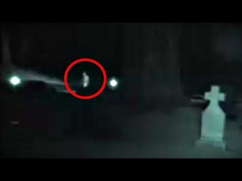 5 Scary Ghost Videos Caught At Night