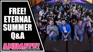 FREE Eternal Summer Q&A with Rob McCollum, Ian Sinclair and Josh Grelle at Animate Miami 2015