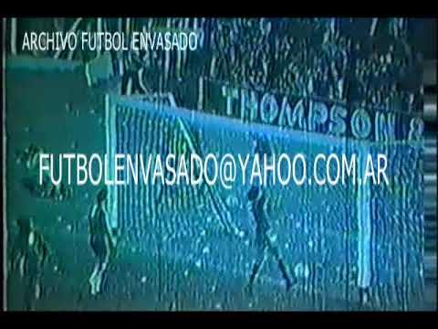 Argentinos Juniors vs River. Torneo Metropolitano 1979. Con Diego Maradona.