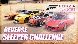 Forza Horizon 3 - Reverse Sleeper Challenge! (Looks Fast, is Slow)