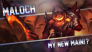 Strike of Kings: MY NEW MAIN!! Maloch [PA/TANK] Gameplay